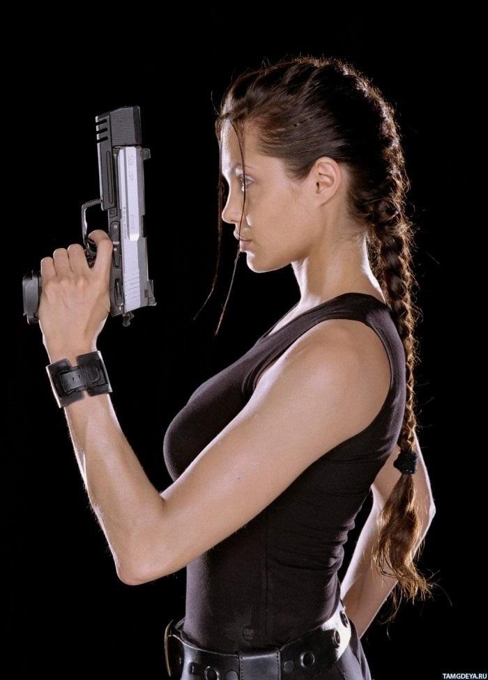 Девушка с пистолетом фото на аву002
