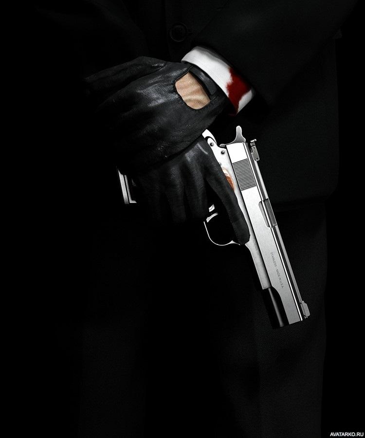 Девушка с пистолетом фото на аву012