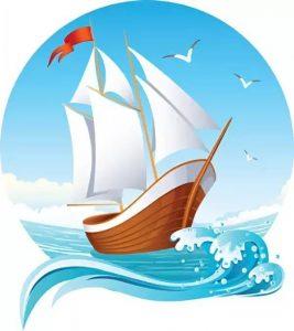 Детские картинки кораблики011