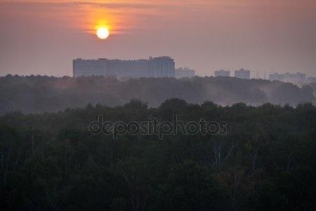 Детские картинки рассвет над москвой рекой 021