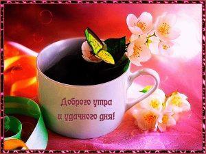 Доброе утро и чудесного дня открытки004