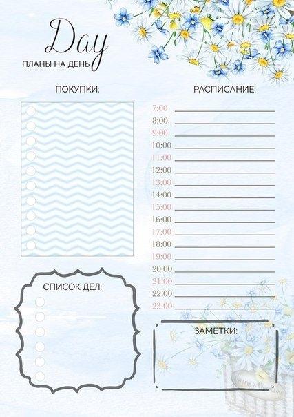 Ежедневник для домашних дел011