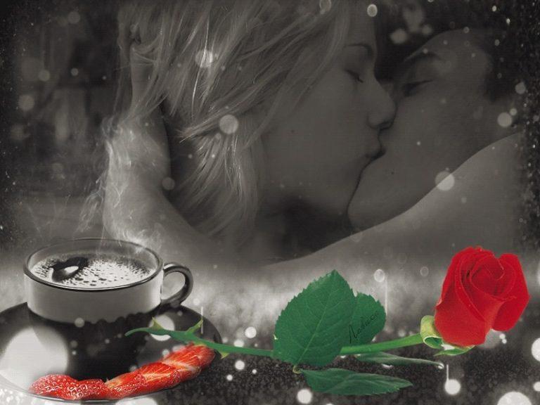 Открытка с любовью и нежностью девушке с добрым утром, открытка приколы