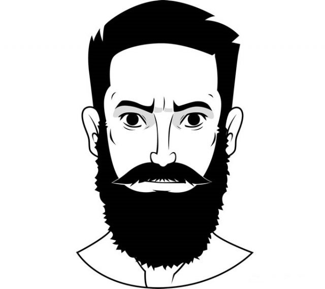 Картинки парней на аву с бородой020