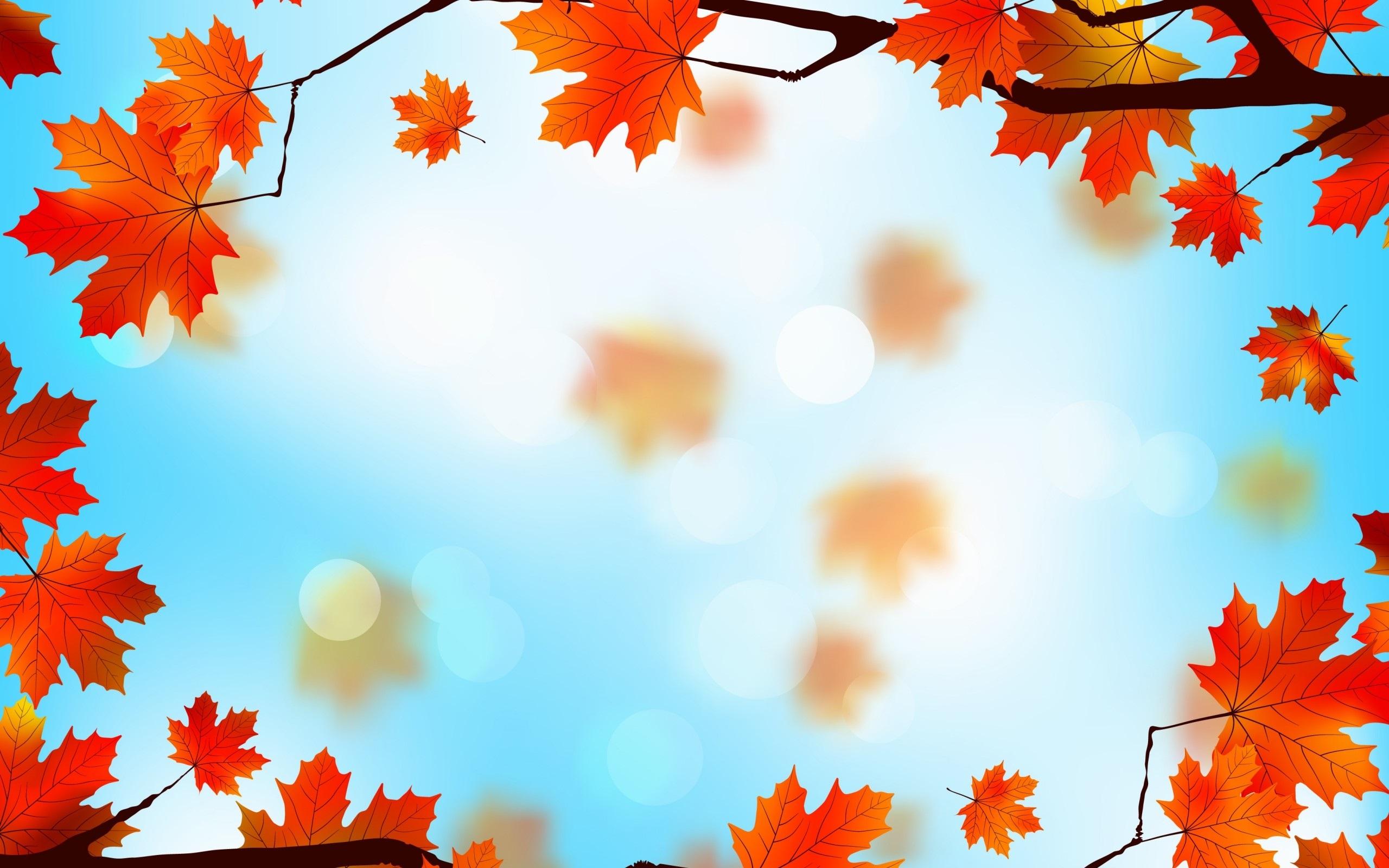 Картинки про осень на рабочий стол 007
