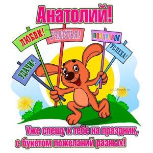Картинки с днюхой Анатолий 010