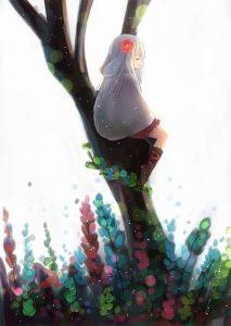 Кролик арты аниме019