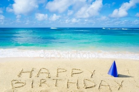 Морские открытки с днем рождения001