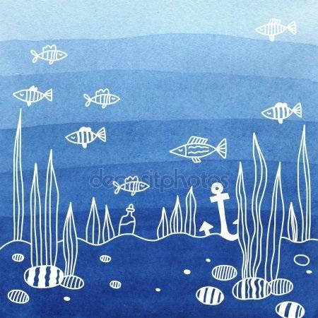 Морские открытки с днем рождения005