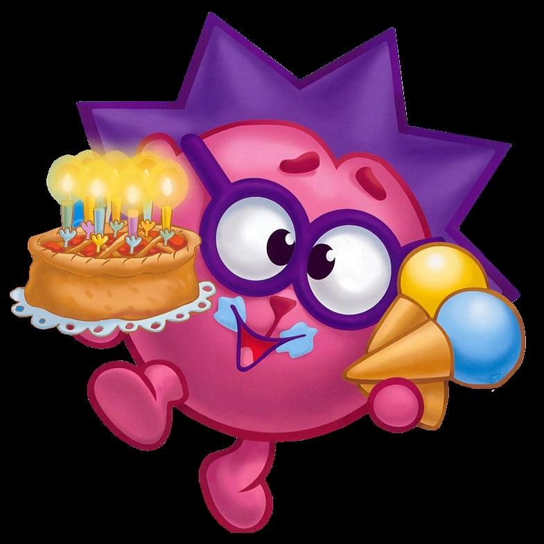круглые картинки с днем рождения смешарики