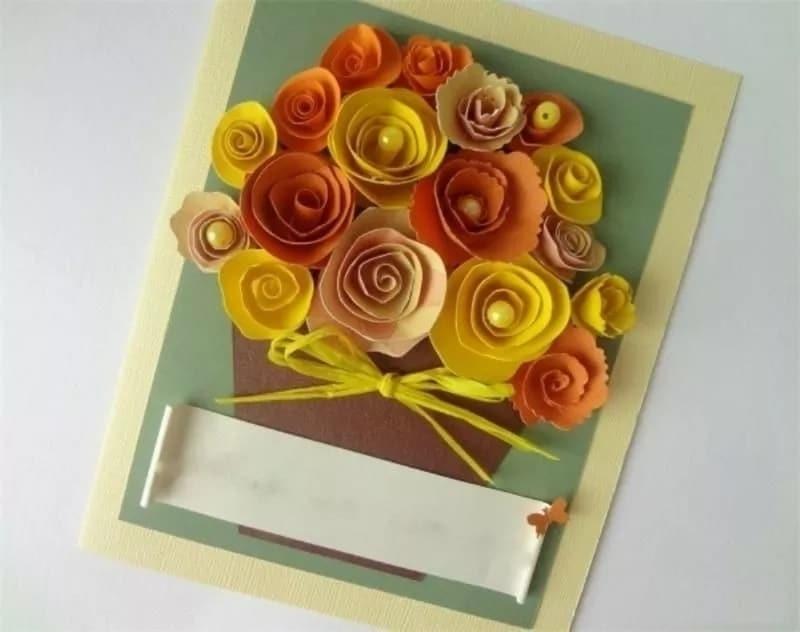 Картинки, фото открыток своими руками на день рождения для мамы