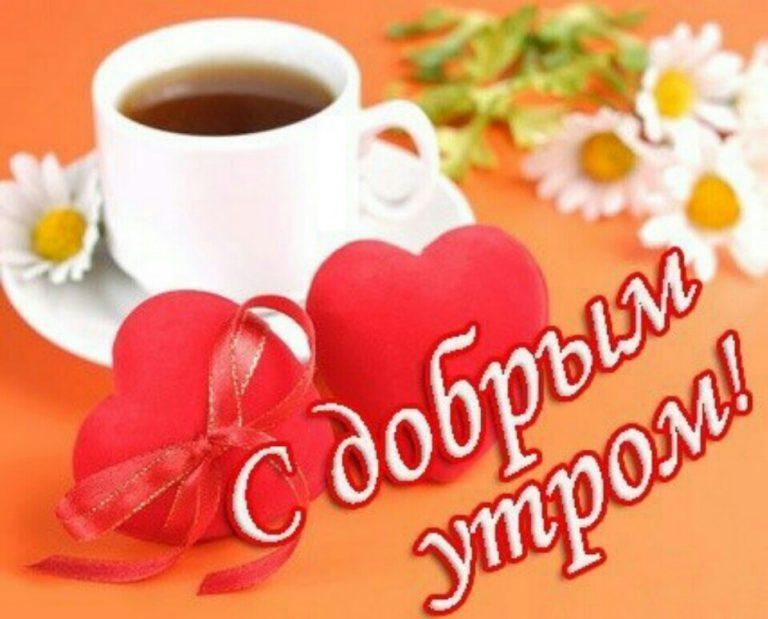 Для, открытка с добрым утром любимый и отличного дня