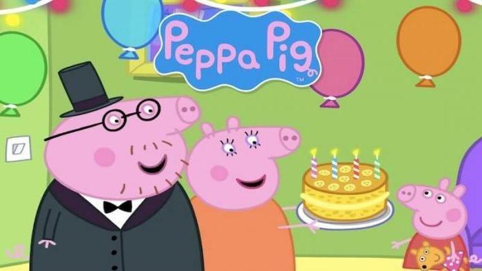 Свинка пеппа открытки с днем рождения, пин детская одежда