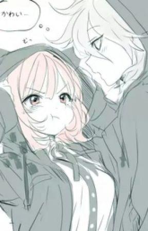 Парень и девушка аниме спят   арты (9)