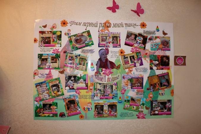 Плакат с фотографиями с днем рождения своими руками017