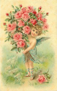 Поздравления с днем рождения старинные открытки021