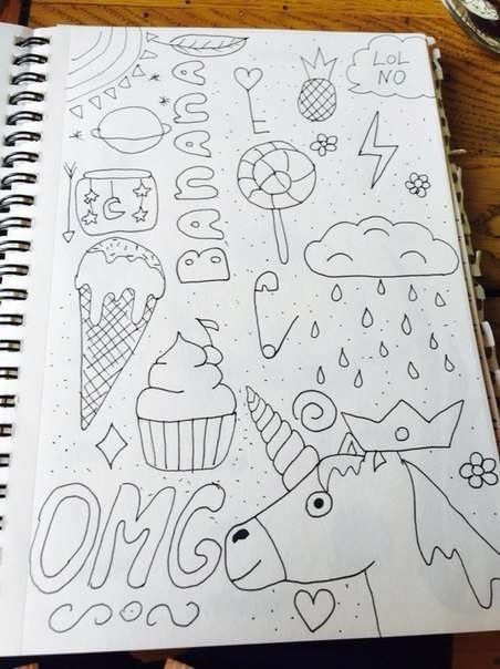 Прикольные идеи рисунков015