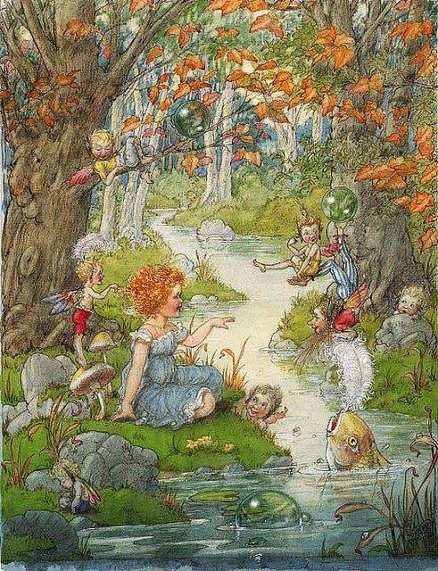 Сказочные гномы картинки   рисунки (2)