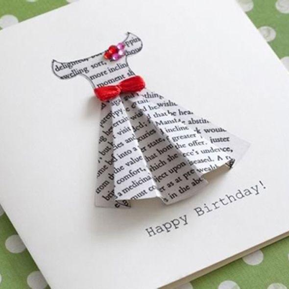 Скачать открытки своими руками на день рождения подруги028