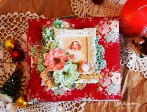 Скрапбукинг новогодний альбом013