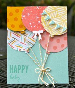 Скрапбукинг открытки с днем рождения детские021