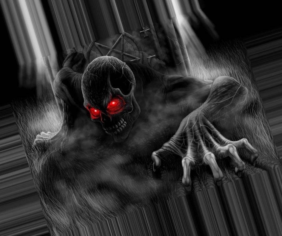 Страшные фото на аву в вк005