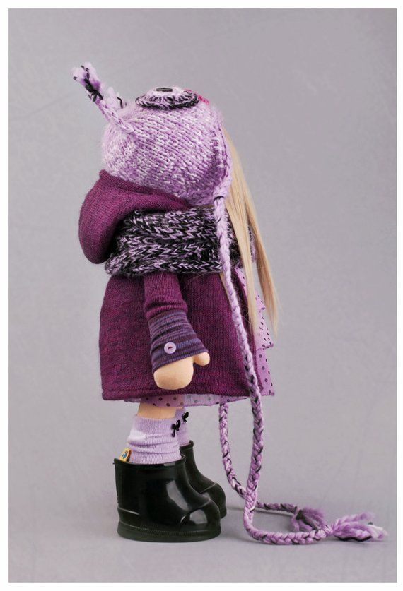 Сшить зимнюю детскую шапку011
