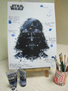 С днем рождения звездные войны открытки015