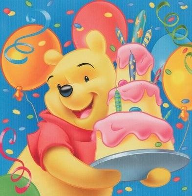 С днем рождения итальянская открытка004