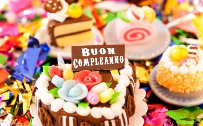 С днем рождения итальянская открытка016