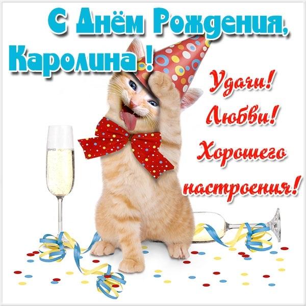 С днем рождения каролина открытки012