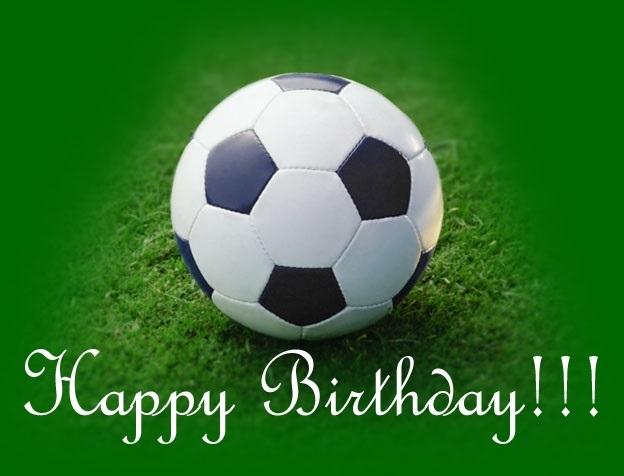 Футбольная открытка мужчине с днем рождения, открытки