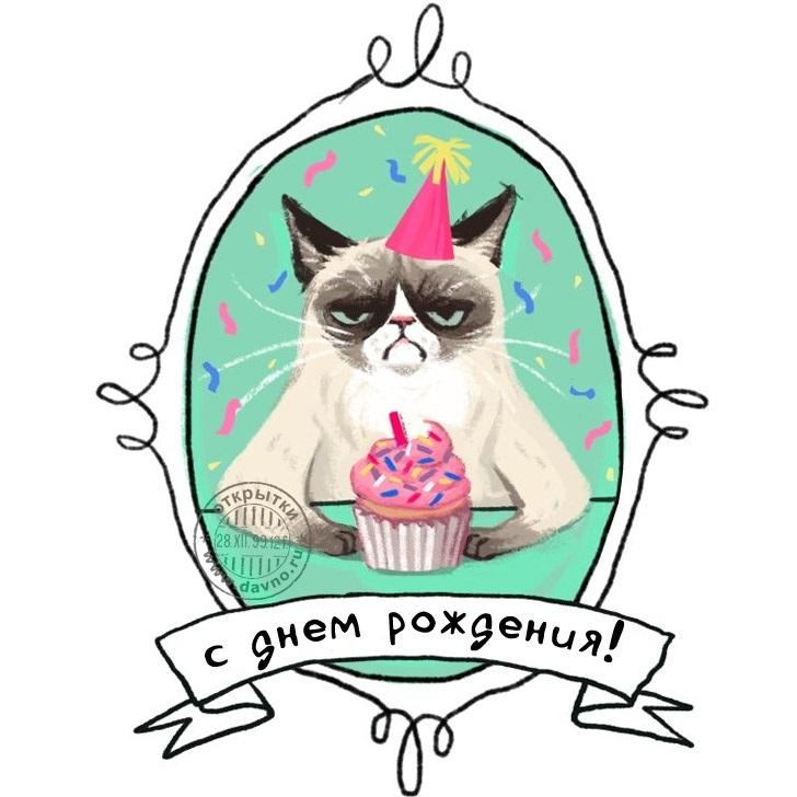 Ироничные открытки с днем рождения