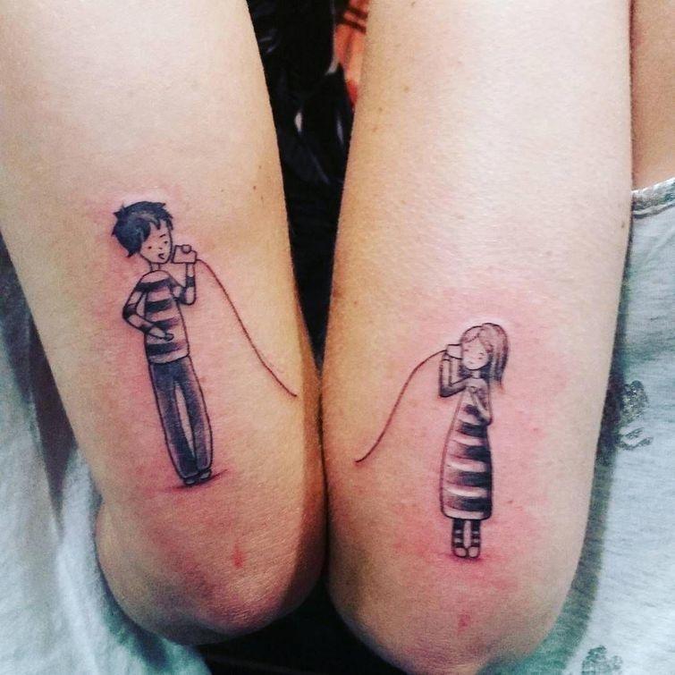 Татуировки для брата и сестры015