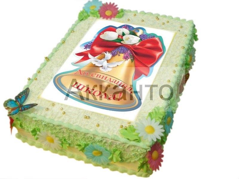 Торт в форме колокольчика009