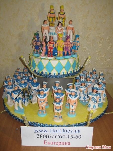 Торт для пижамной вечеринки003