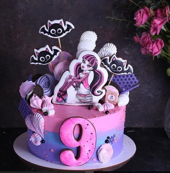 Торт для пижамной вечеринки004