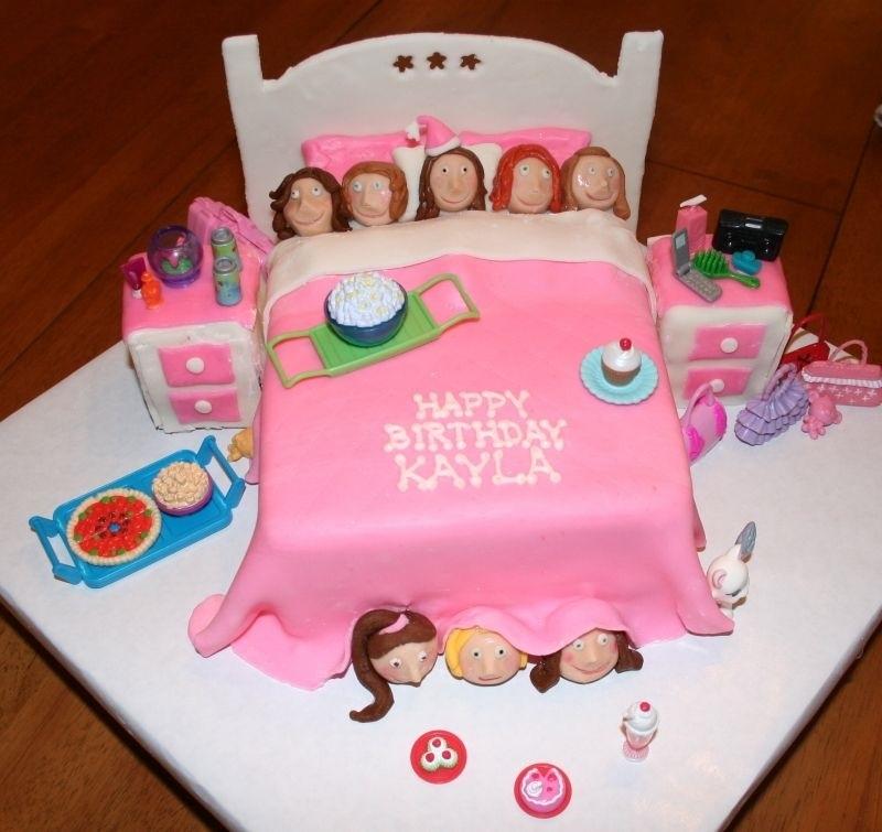 Торт для пижамной вечеринки005