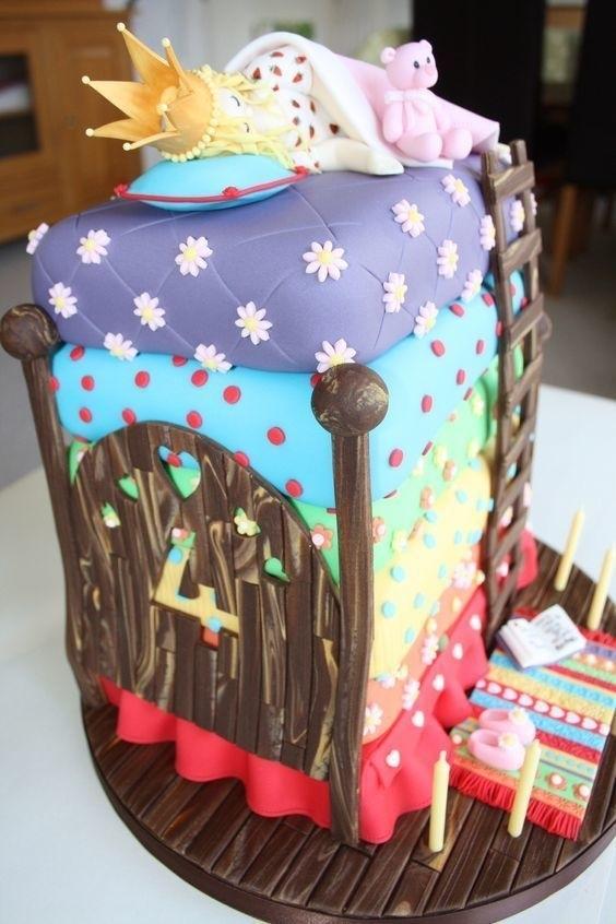 Торт для пижамной вечеринки006