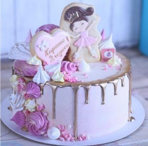 Торт для пижамной вечеринки007