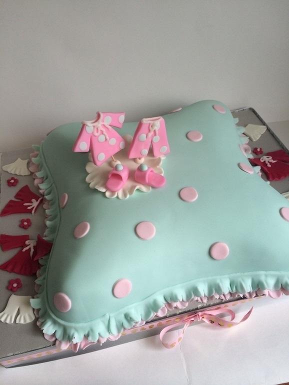 Торт для пижамной вечеринки009