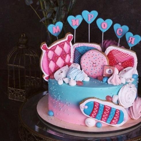 Торт для пижамной вечеринки010