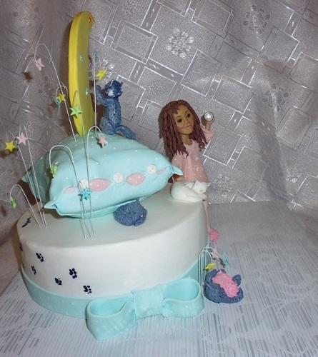 Торт для пижамной вечеринки011