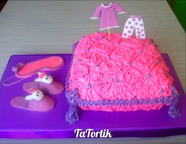 Торт для пижамной вечеринки013
