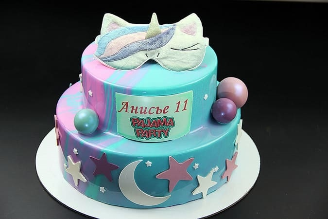 Торт для пижамной вечеринки016