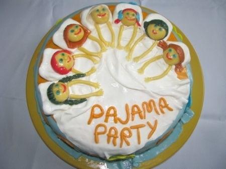 Торт для пижамной вечеринки019