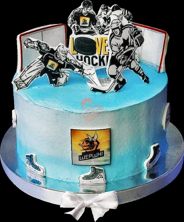 утром торт с хоккеистами картинки очень