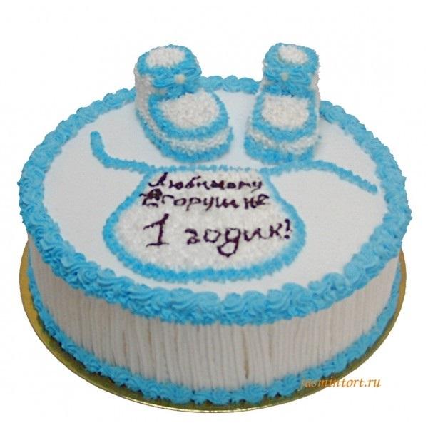 Торт пинетки из крема007