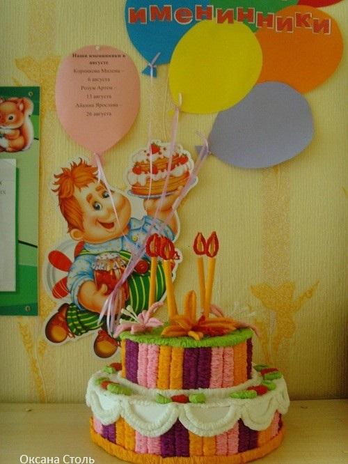 Открытка екатеринбург, уголок поздравления с днем рождения в детском саду своими руками фото