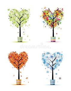дерево зимой весной летом осенью 014